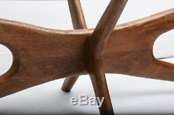 Vintage Adrian Pearsall Coffee Table Mid Century Modern, Woodstock Vintage