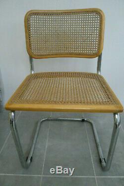 Vintage Bauhaus Marcel Breuer design cesca chair. Mid century retro