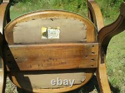 Vintage Drexel Chairs PAIR Green Mid Century Modern
