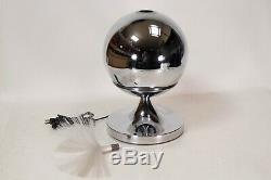 Vintage Fantasia Sunburst 4000 Fiber Optic Rotating Lamp Mid Century Modern