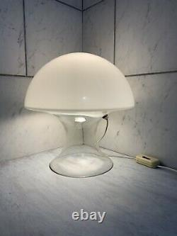 Vintage Gino Vistosi Murano Glass Mushroom Lamp Mid Century Modern Table Lamp