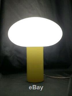 Vintage Green Mushroom Lamp Mid Century Modern Laurel Style