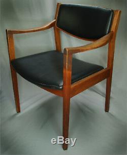 Vintage Gunlocke Mid Century Modern MCM Danish Style Arm Chair 2419 USB A