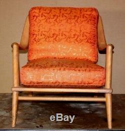 Vintage Hard To Find Heywood Wakefield Chair MID Century Modern