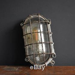 Vintage Industrial Bulkhead Lights Mid Century Wall Ceiling Light Lighting