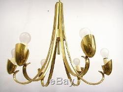 Vintage Italy Mid Century Spider Chandelier Pendant Lamp Stilnovo Era Arteluce