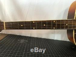 Vintage Kay Archtop Guitar MID Century Accoustic Bound Body Blues Archtop