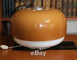 Vintage Large Guzzini Meblo Lamp/Mid Century Lamp/Mushroom Lamp/1960s