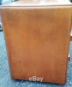 Vintage Mid Century American Modern Conant Ball Russel Wright Birch Wood Desk