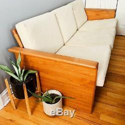 Vintage Mid Century Danish Modern MCM Teak Sofa Tarm Stole Denmark
