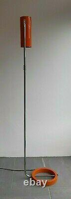 Vintage Mid Century Floor Lamp Tangola Paul Mayen For Habitat- Working / Deliver