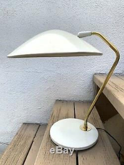 Vintage Mid Century Gerald Thurston Lightolier Table Lamp Works MCM