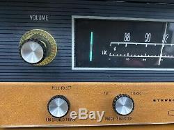 Vintage Mid Century Heathkit AA-100 Tube Type Stereo Amplifier & AJ-12 Tuner