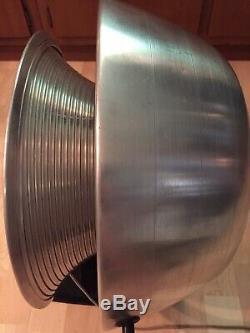 Vintage Mid Century Large Vornado Electric 3 Speed Fan model 10D1 / 1DD1 WORKS