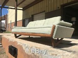 Vintage Mid Century Modern ADRIAN PEARSALL Craft Associates Gondola Sofa Walnut