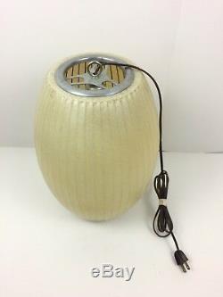 Vintage Mid Century Modern George Nelson Howard Miller Pendant Bubble Lamp MCM