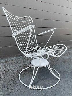 Vintage Mid Century Modern Homecrest Patio chairs