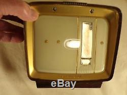 Vintage Mid Century Modern Numechron Television TV Clock 1961 Rare Style