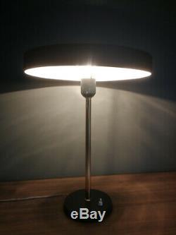 Vintage Mid Century Modern Timor Table Desk Lamp Louis Kalff Philips Eames Era