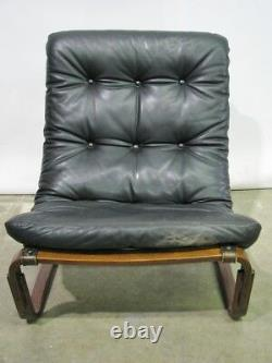 Vintage Mid-Century Rosewood Chair & Ottoman by Ingmar Relling for Westnofa