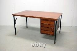 Vintage Mid Century Teakwood Executive Desk by Arne Vodder for John Stuart