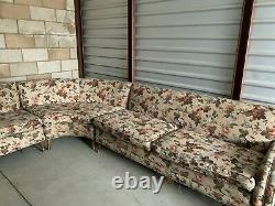 Vintage Mid Century couch very long