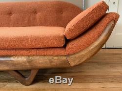 Vintage Mid-century Modern Gondola Sofa Adrian Pearsall