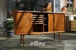 Vintage Midcentury Highboard Gunni Omann Axel Christstensen Teak 60er 70er