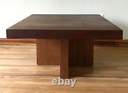 Vintage Milo Baughman Walnut Table Coffee Side End Thayer Coggin Mid Century MCM