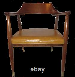 Vintage Period Mid-Century Modern Style Arm Side Dining Office Chairs Can Ship