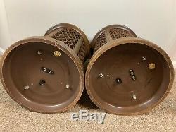 Vintage Pioneer CS-06 7 Driver Omni Directional Mid Century Modern Speakers