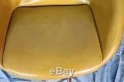 Vintage Retro Mid Century Modern Chromcraft Atomic Bench