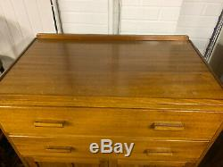 Vintage Retro Mid Century Tallboy Chest of Drawers Cabinet Cupboard
