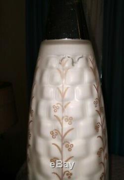 Vintage Tension Pole Lamp Mid Century Hollywood Regency Floor Light
