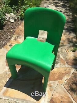 Vintage collectible mid-century modern Eames-Era Joe Colombo-Kartell chair #4867