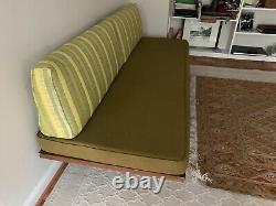Vintage mid century danish modern daybed settee sofa 60's 50's
