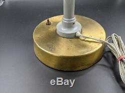 Vtg 1960s Space Age UFO Table Lamp Atomic Age Mid Century Desk Danish Modern