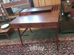 Vtg MID Century Danish Modern Kurt Ostervig Teak Desk 1960's Cool L@@k