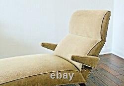 Vtg Mid Century Danish Modern Contour Chaise Lounge Chair Risom Selig Probber