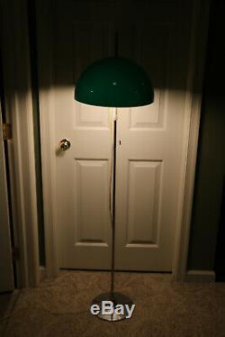 Vtg Mid Century Modern Mushroom Floor Lamp Kovacs Koch Guzzini Sonneman Style