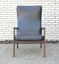 Wanscher France Sons Vtg Mid Century Danish Modern Rosewood Lounge Chair Juhl