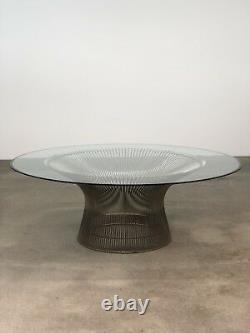 Warren Platner Vintage Knoll Coffee Table Mid Century